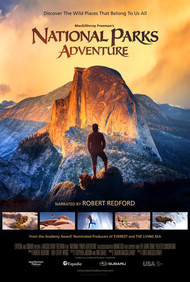 NATIONAL PARKS – IMAX ADVENTURE Movie Poster