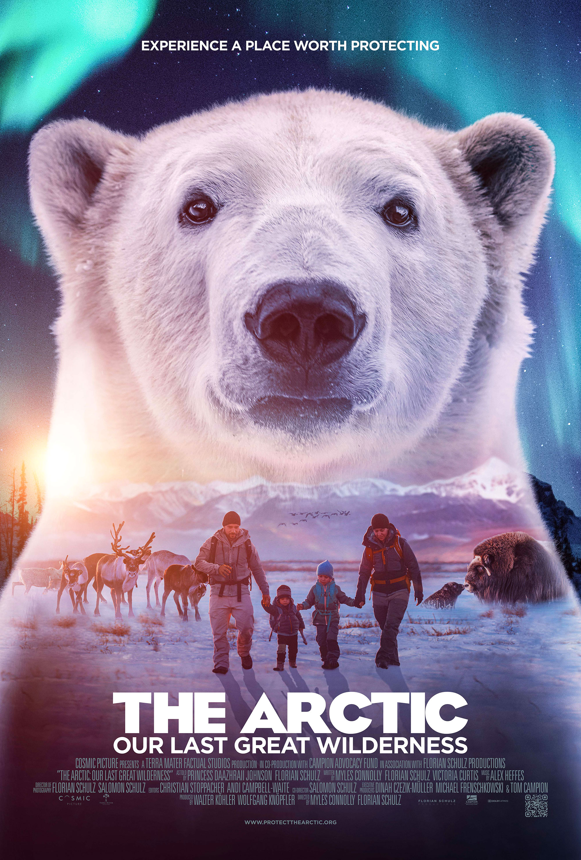 The Arctic – IMAX Adventure Movie Poster
